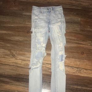 American eagle next level high waisted jeans